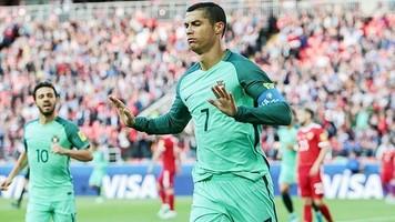 Кубок Конфедераций: Криштиану Роналду помог сборной Португалии одолеть Россию