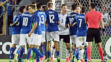Италия (U-21) - Германия (U-21) 1:0. На волоске