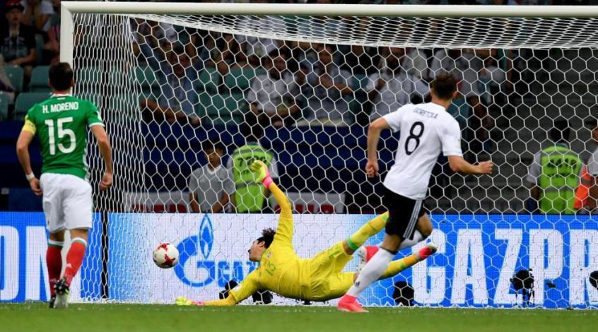 Германия - Мексика 4:1. Профессионал