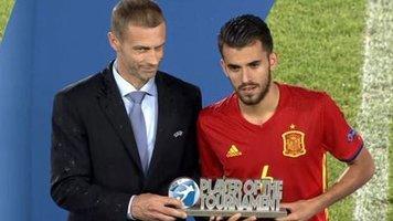 УЕФА: Даниэль Себальос - лучший игрок Евро-2017 U-21