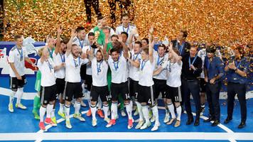 Статистические итоги Кубка Конфедераций–2017: Германия, Португалия и Мексика