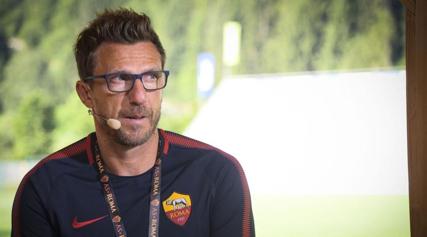 """Эусебио Ди Франческо: """"Рома"""" попала в штангу на своём стадионе уже шесть раз"""""""
