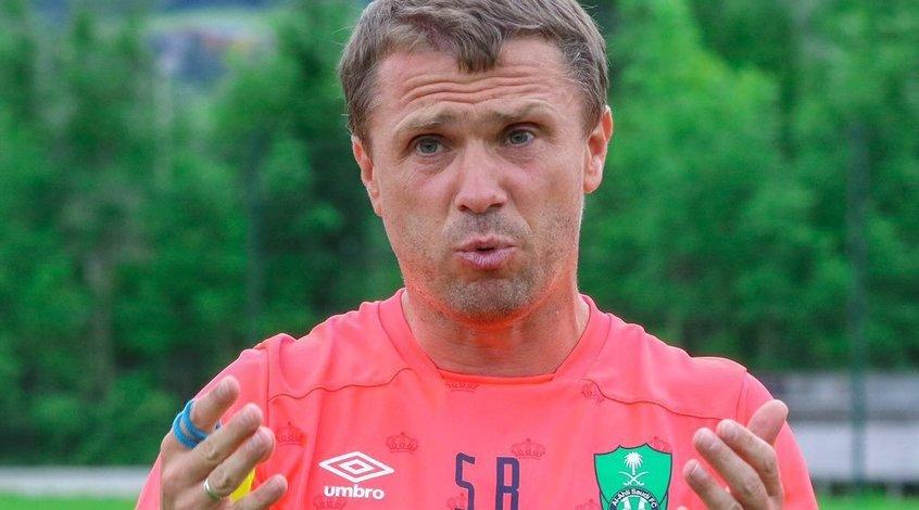 """Сергей Ребров: """"Я не знаю мотивов Марлоса, но он - игрок высокого уровня, однозначно"""""""