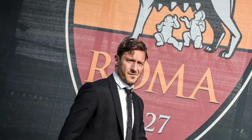 """Франческо Тотти: """"Если бы у меня была в """"Роме"""" другая должность, я бы кое-что изменил в команде"""""""