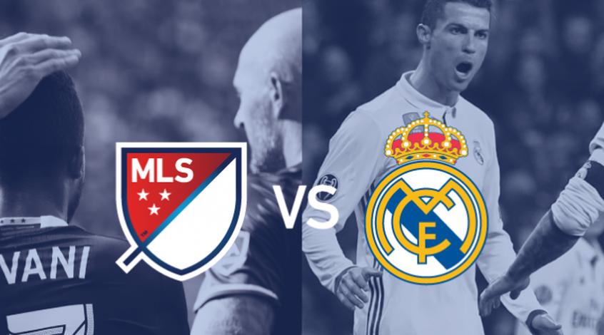"Матч глазами судьи: ""Реал"" против звезд MLS (Видео)"