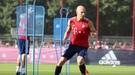 """""""Бавария"""": Роббен вернулся к тренировкам, Хави Мартинес выбыл из строя"""