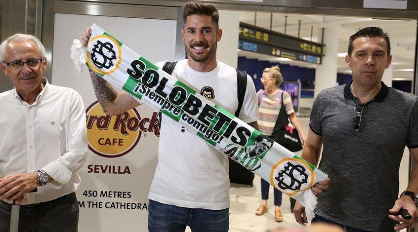 """Хави Гарсия прибыл в Севилью для подписания контракта с """"Бетисом"""""""
