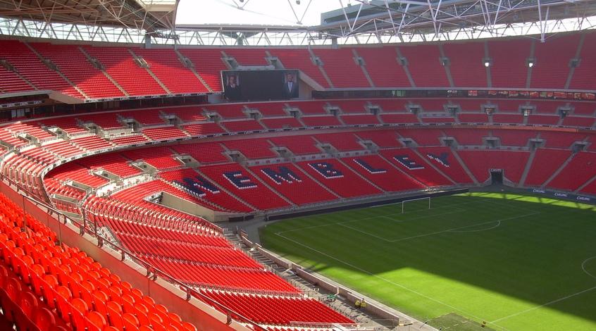 Самые большие стадионы Великобритании