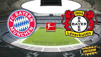 "Чемпионат Германии. ""Бавария - ""Байер"" 2:1 (Видео)"