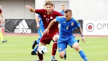 Латвія U-21 - Україна U-21 1:1. Борячук та Лучкевич не забили