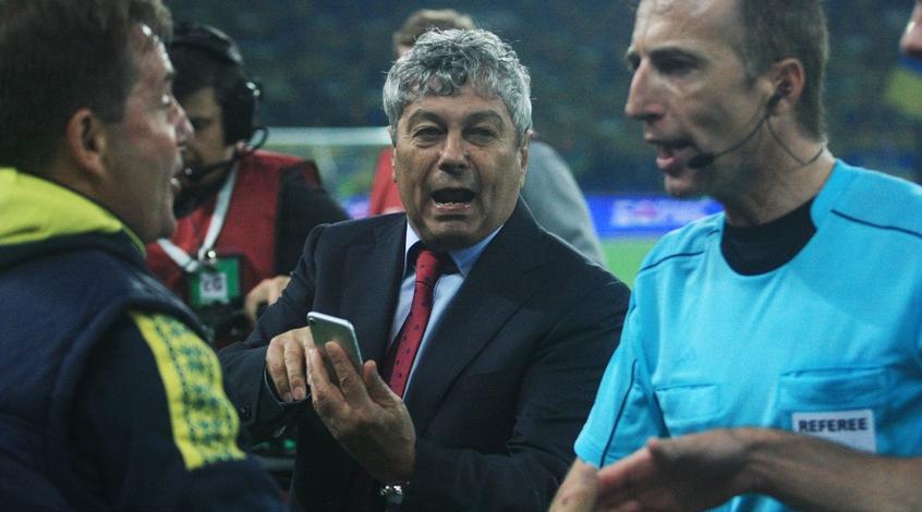 Луческу дисквалифицирован наодин матч отбора чемпионата мира