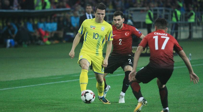 Марокко - Украина: коэффициент 5,70 на гол Евгения Коноплянки