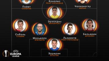 Эдуард Соболь включен УЕФА в команду недели Лиги Европы
