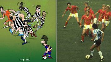 """Футбол в карикатурах: ураган """"Харри"""", убийца драконов и уборка Клоппа (Фото, Видео)"""