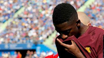 """""""Барселона"""" готова отдать Усмана Дембеле в обмен на Аарона Рэмси"""