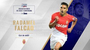 Радамель Фалькао – игрок августа в Лиге 1