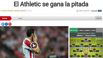 """""""Атлетик"""" – """"Заря"""". Обзор испанских СМИ"""