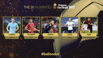 """France Football добавил в число претендентов на """"Золотой мяч"""" еще пятерых, включая Левандовски и Кейна"""