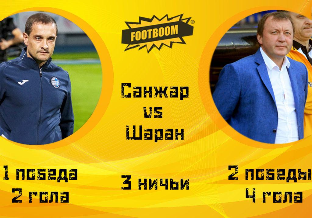 Тренерская битва тура: Роман Санжар vs Владимир Шаран (Инфографика) - изображение 2