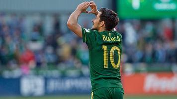 """Экс-хавбек """"Металлиста"""" Себастьян Бланко стреляет дублем в MLS (Видео)"""
