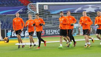 """""""Шахтер"""" провел тренировку в Роттердаме (+Фото)"""