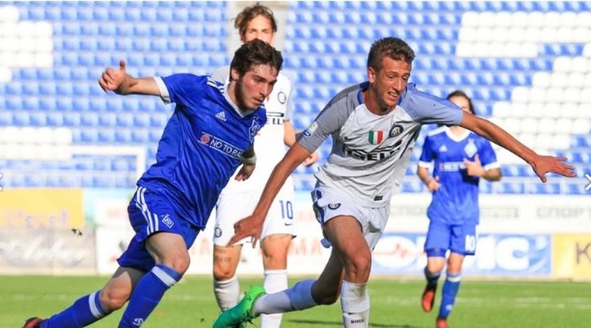 «Динамо» U-19 крупно проиграло «Интеру» ивылетело изЮношеской лиги УЕФА