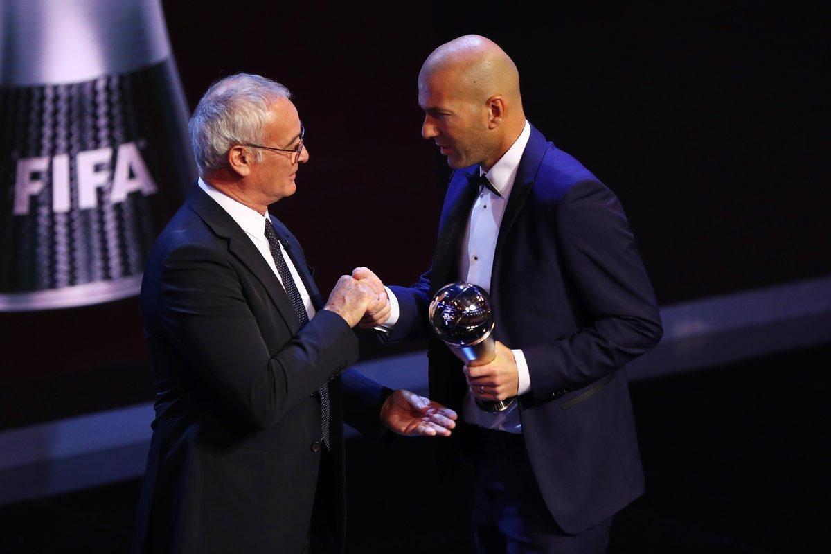 The Best FIFA Football Awards: Зинедин Зидан - лучший тренер 2017 года - изображение 1