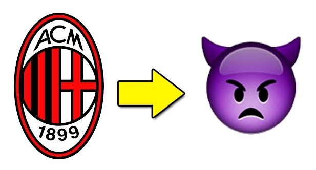 Как выглядели бы эмблемы клубов Серии А на смайликах гаджетов - изображение 20