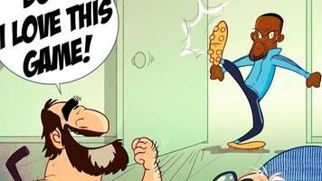 Футбол в карикатурах: будни АПЛ, хэллоуиновские зарисовки и любимчик Кантона (Фото)
