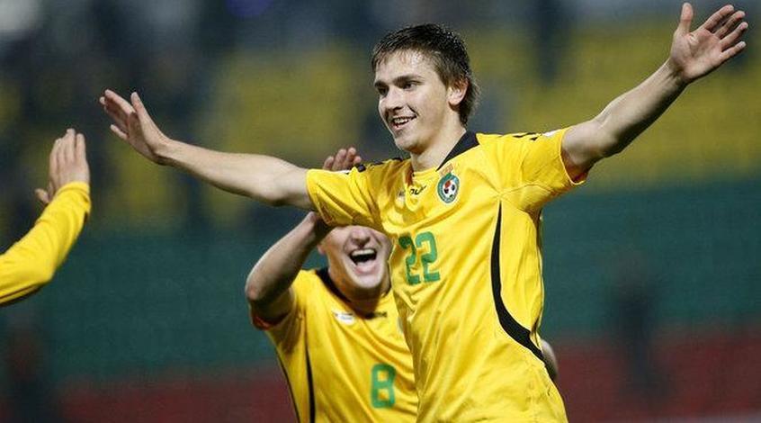 Капитан сборной Литвы попал всферу интересов топ-клубов Российской Федерации иУкраины