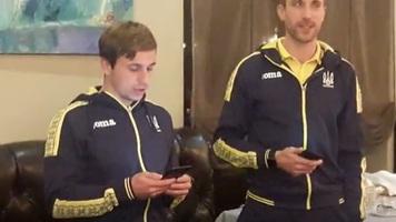Сборная Украины: Мякушко и Коломоец спели песню новичков (Видео)