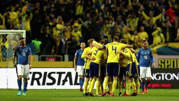 Швеция – Италия 1:0. Справедливый рикошет