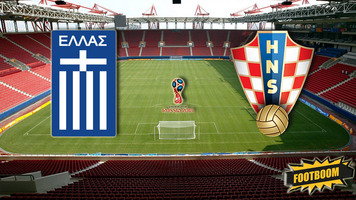 Отбор к ЧМ-2018. Греция - Хорватия 0:0 (Видео)