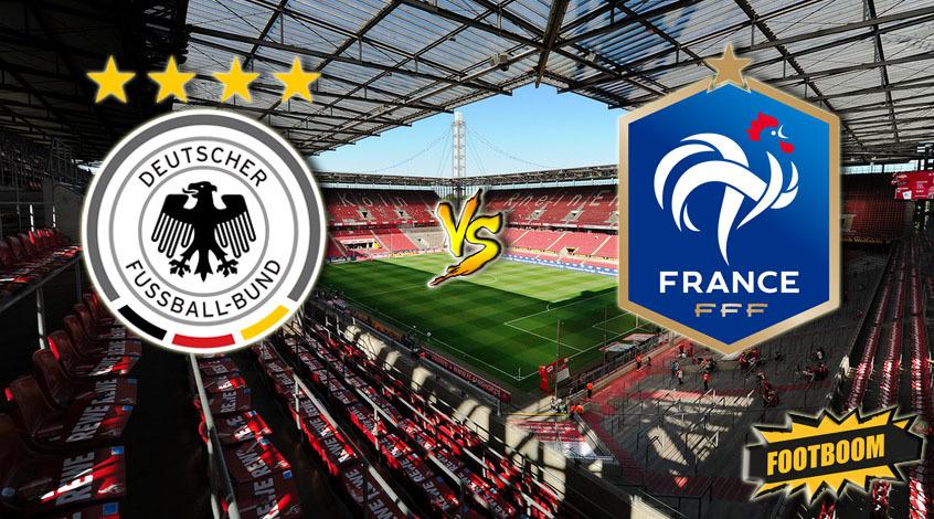 Германия – Франция. Анонс и прогноз матча