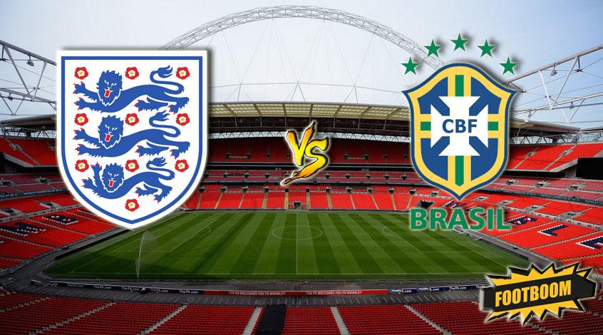 Англия - Бразилия. Анонс и прогноз матча