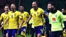 Игроки сборной Швеции побрили Гранквиста после выхода на чемпионат мира (Фото)