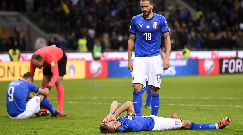 Экономика Италии не досчитается 1 миллиарда евро из-за непопадания сборной на ЧМ-2018