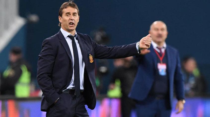 Футболисты сборной Испании просили не увольнять Лопетеги до окончания ЧМ-2018
