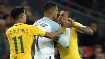 Англия - Бразилия 0:0. Не потерять лицо