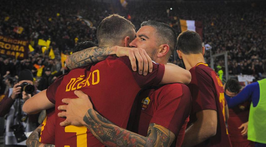 «Рома» обыграла «Лацио» вримском дерби