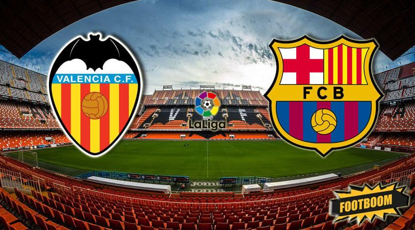 «Валенсия» соскандалом сыграла вничью с«Барселоной»