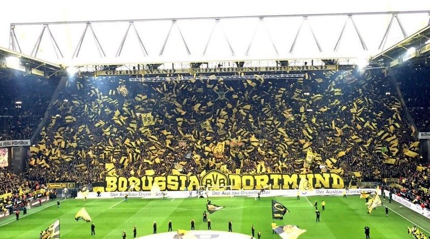 """Дортмундская """"Боруссия"""" возглавляет список самых посещаемых клубов мира (Фото)"""