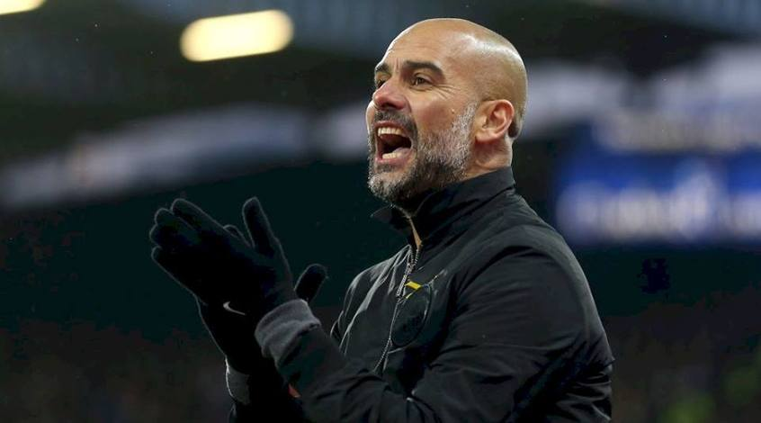 Гвардиола признан лучшим тренером сезона в АПЛ