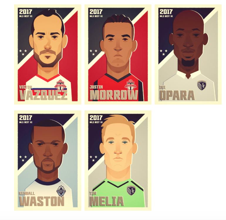 MLS: символическая сборная регулярного чемпионата (Видео) - изображение 2