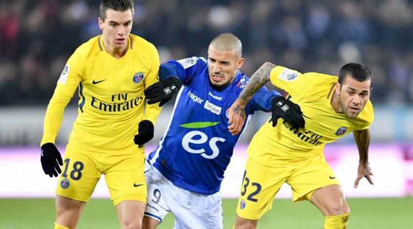 Кубок французской Лиги. 1/8 финала. ПСЖ берет реванш в Страсбурге