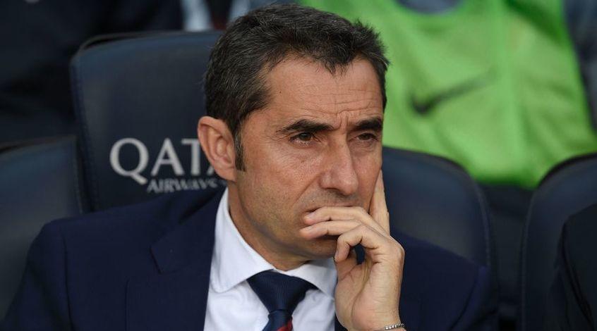 """""""Барселона"""" может уволить Вальверде в случае потери очков в двух следующих матчах"""
