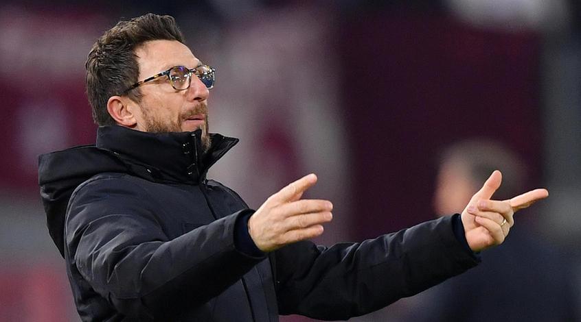 """Тренер """"Ромы""""Ди Франческо: """"Немногие команды могут создать столько проблем хозяевам в Турине"""""""