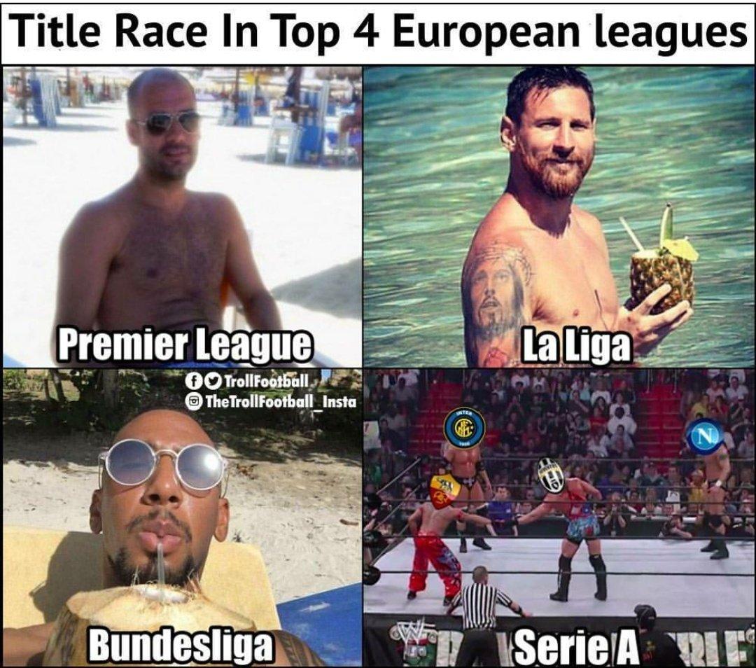 Конкуренция в топ-чемпионатах в одной картинке - изображение 1