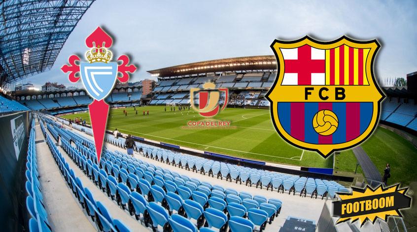 «Барселона» сыграла вничью с«Сельтой» впервом матче 1/8 финала Кубка Испании