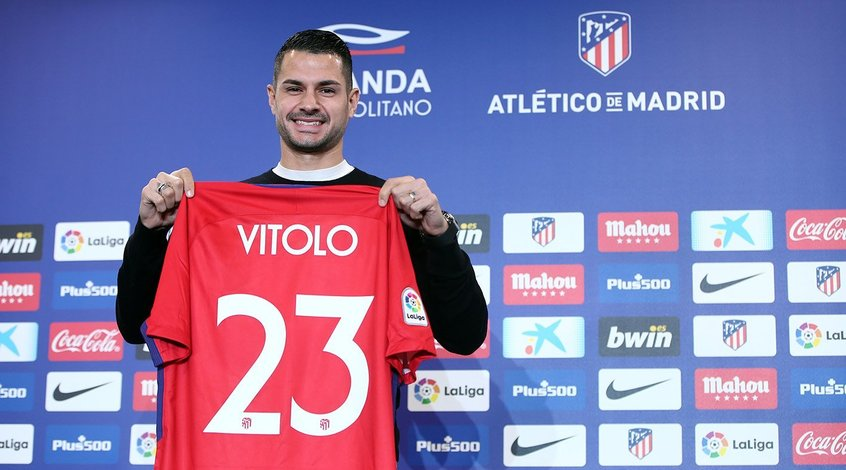 """""""Атлетико"""" провел презентацию Витоло и Диего Косты"""